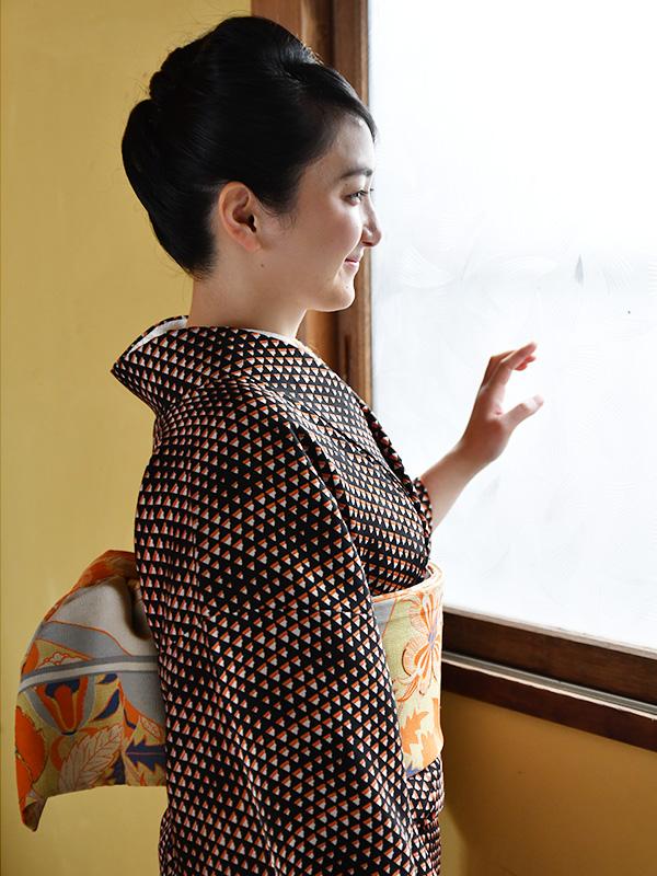 普段着の着物・小紋