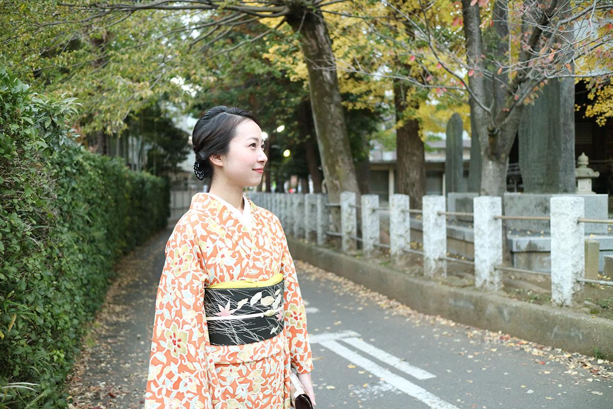 11月の着物コーディネート