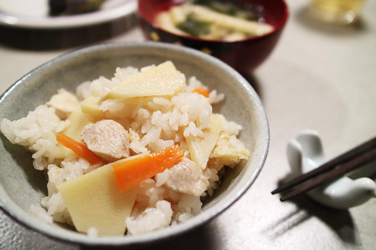 筍ご飯のレシピ
