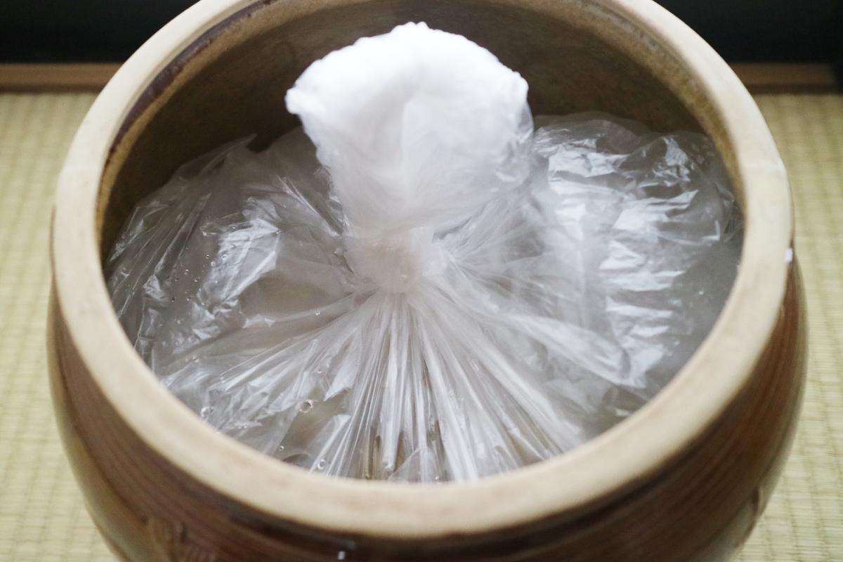 梅干しの作り方